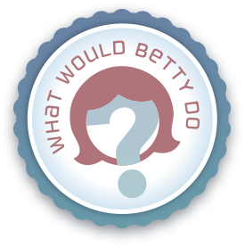 What Would Betty Do? Logo