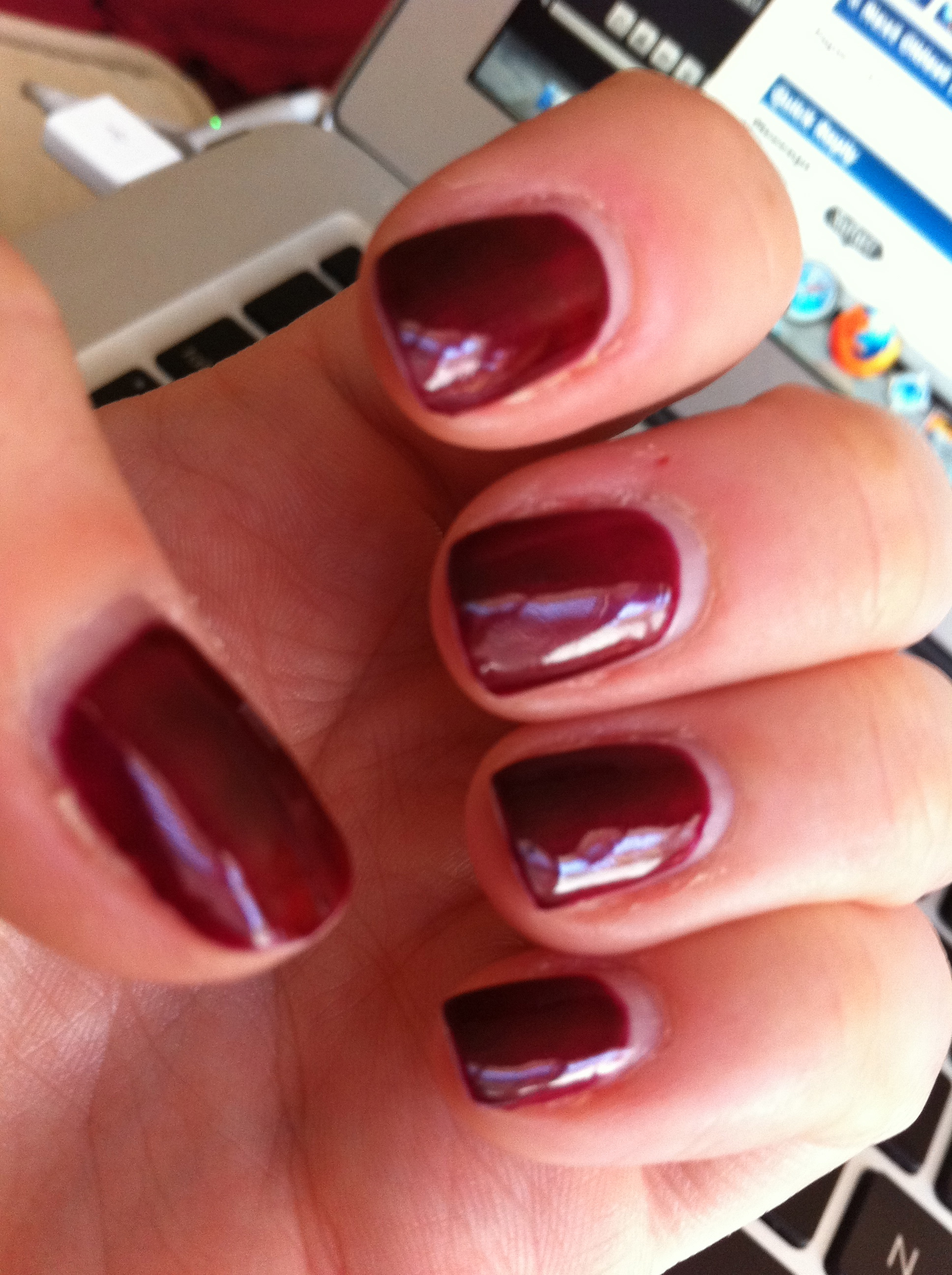 how to take shellac nails off with acetone
