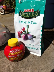 Bone meal and Mater Magic: the fertilizers of champions.