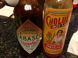 Our house is home to an ongoing hot sauce debate.