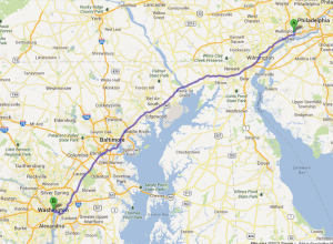129 miles is a long way.