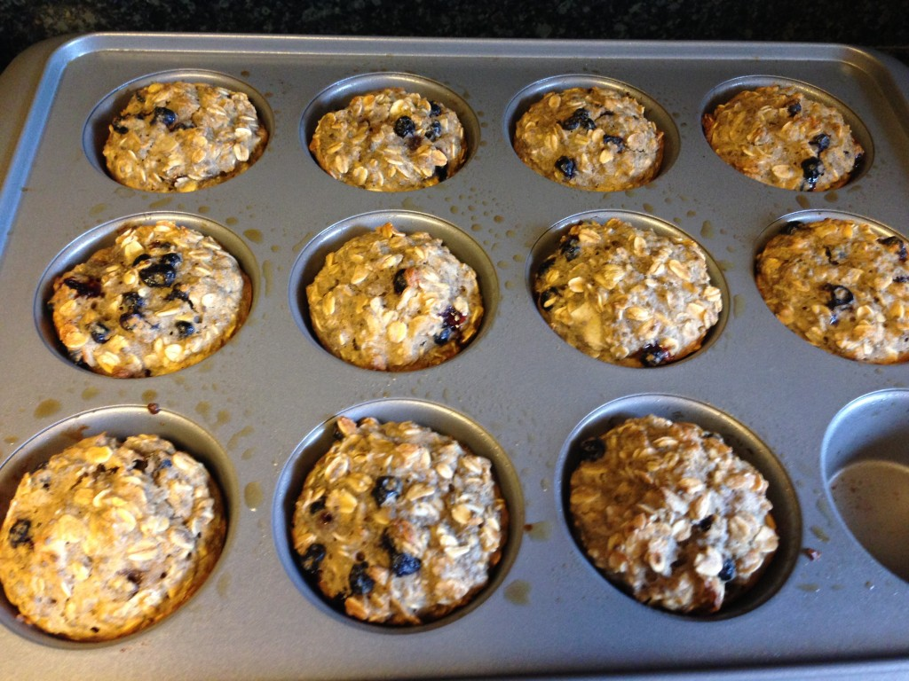 Blueberry Coconut Oatmeal Muffins - What Would Betty Do?