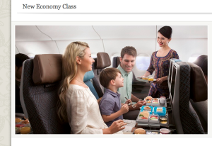 With any luck, we'll be all smiles, too. From Singaporeair.com