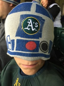 Wear an oversized Oakland A's R2-D2 hat if you want. There are no rules here.